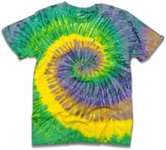 "The ""Mardi Gras"" Tie Dye Mens T-Shirt"