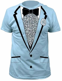Halloween Costume Men's T-Shirt - The Retro Prom Tuxedo