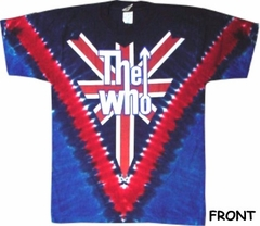 The Who Tshirt - The Who Long Live Rock Tie Dye T-Shirt