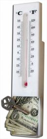 Thermometer Hide-A-Safe