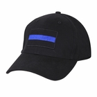 Thin Blue Line Flag Patch Snap Back Blue Lives Matter One Size Fully Adjustable