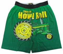 This is How I Roll Funny Tractor Boxer Shorts
