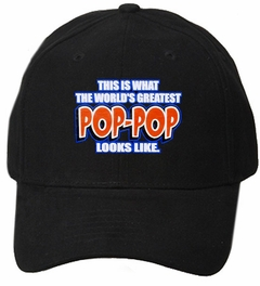 This Is What The World's Greatest Pop - Pop Looks Like Baseball Hat