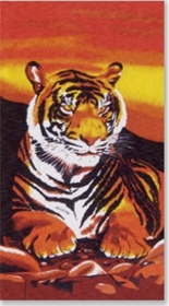 Tiger Beach & Bath Towel