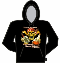 Time Flies When You're Having Rum Hoodie