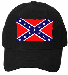 Torn Confederate Flag Baseball Hat