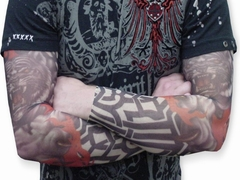 Tattoo Sleeves - Tribal Tiger Tattoo Sleeves (Pair)