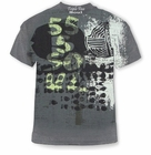 "Triple Five Soul ""Wacky Fish Journal"" T-Shirt (Charcoal)"