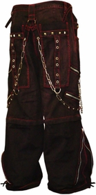 """Tripp NYC """"Blood Stained"""" Bondage Pants"""