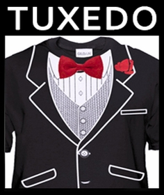 Tuxedo T-Shirt - Tuxedo Shirt and Tuxedo t shirt for Men Girls and Kids