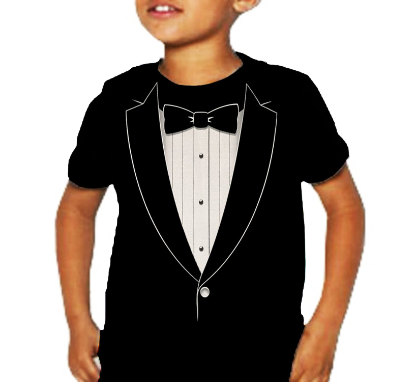 Tuxedo Kids T-Shirts from CafePress are professionally printed and made of the best materials in a wide range of colors and sizes.