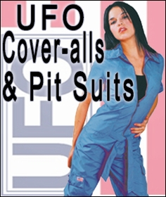 UFO Coveralls, Pit Suits and more