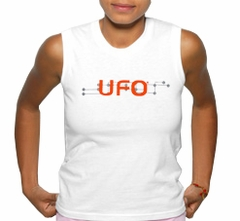 UFO Girly Sleevless Digital T-Shirt