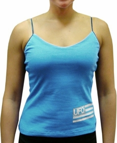 UFO Girly Tank Top (Light Blue)
