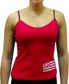 UFO Girly Tank Top (Red)