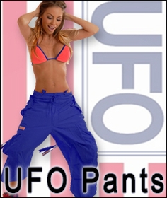 UFO Pants , UFO Jeans, Raver Pants, Dance and Hip Hop  Pants by UFO Clothing
