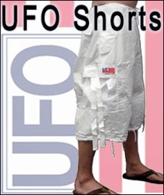 UFO Shorts & Capri's Buy Rave Clothing and Hoodies :: Buy UFO Pants, Funny T-shirts and Heelies at Bewild > UFO Pants , UFO Jeans, Raver Pants, Dance and Hip Hop Pants by UFO Clothing > UFO Shorts & Capri's UFO Shorts & Capri's The same great UFO style is now available in a pair of shorts. With so many colors to choose from the possibilities are endless