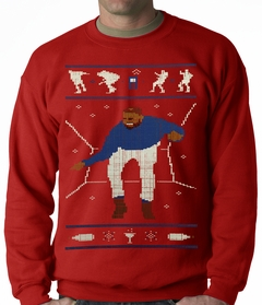 Ugly Christmas Sweater - Dancing Man Crewneck Sweatshirt