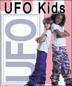 Unisex UFO Pants for Kids