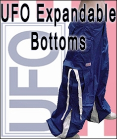 Unixex Basic UFO Pants with Expandable Bottom
