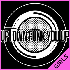 Uptown Funk You Up Record Ladies T-shirt