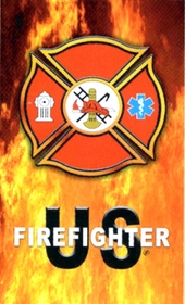 US FireFighter Blaze Beach/Bath Towel