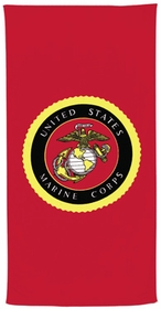 USMC Beach Towel