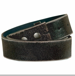 vera pelle vintage leather belt