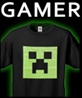 Video Game T-Shirts Featuring Minecraft Gamer T-shirts and Angry Birds
