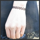 Vintage Stretch Bracelet / Anklet Tattoo Jewelry