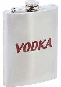 Vodka 8oz Stainless Steel Flask