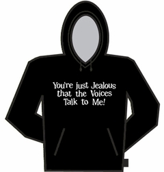 Voices Talk To Me Hoodie