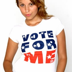 Vote For Me Girls Tee