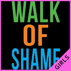 Walk Of Shame Girl's T-Shirt