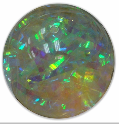 "Water Ball - Giant 4"" 100mm Rainbow Prism  Water Ball<!-- Click to Enlarge-->"