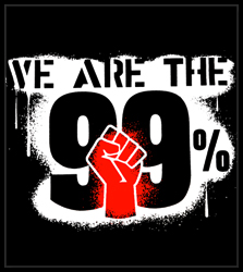 We Are The 99% Men's T-Shirt
