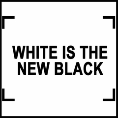White Is The New Black Men's T-Shirt
