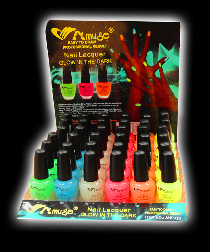 Wholesale Glow In The Dark Nail Polish ( 36 Piece Display