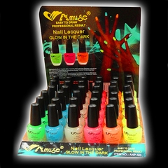 Wholesale Glow in The Dark Nail Polish ( 36 Piece Display)