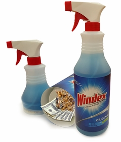 Windex Spray Diversion Safe (Working Spray Bottle)
