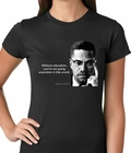 Without Education Malcolm X Girls T-shirt