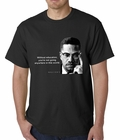 Without Education Malcolm X Mens T-shirt