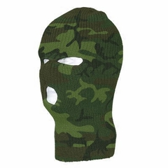 Woodland  Deluxe Camouflage Warm Winter Ski and Face Mask