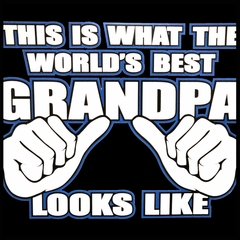 World's Best Grandpa Men's T-Shirt