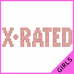 X-Rated Girls T-Shirt