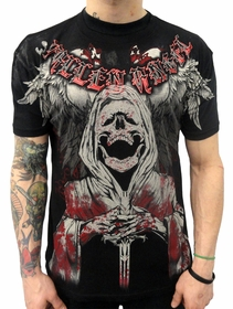 "Xzavier ""Angel of Death"" T-shirt (Black)"