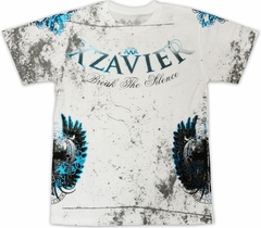 "Xzavier ""Break The Silence"" T-Shirt (White)"