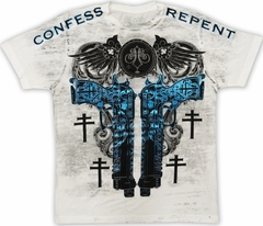 "Xzavier ""Confess & Repent"" T-Shirt (White)"