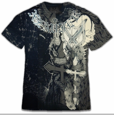 """Xzavier """"Cross My Heart"""" Couture T-Shirt<!-- Click to Enlarge-->"""