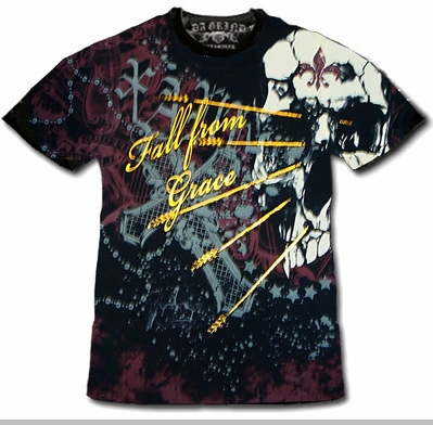 """Xzavier Da Grind """"Fall From Grace"""" T-Shirt<!-- Click to Enlarge-->"""